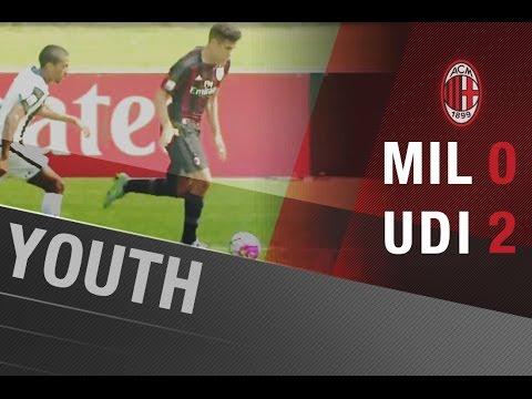 AC Milan-Udinese 0-2 | AC Milan Youth Official