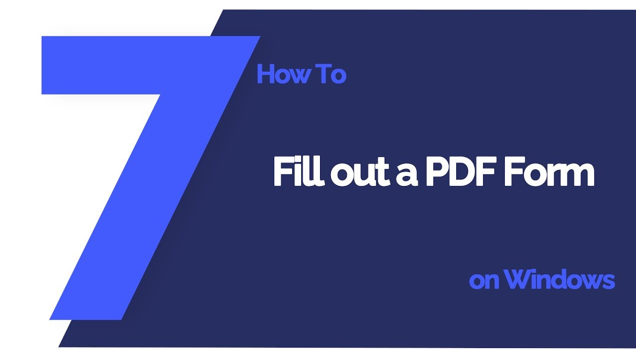Top 5 Free PDF Form Fillers in 2019 | Wondershare PDFelement