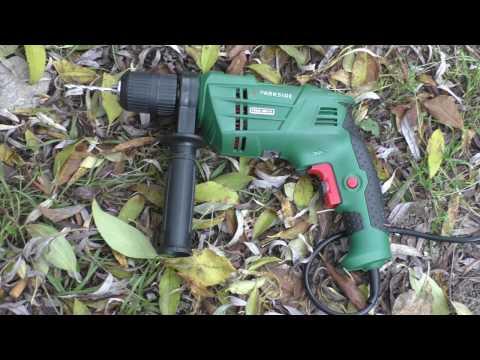 Test wiertarki udarowej z Lidla Parkside hammer drill //psbm 500 c4