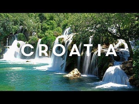 Croatia Road Trip in a Rental Car on Roads