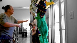 Scary Clown Tries to Break into our House on Halloween - Scariest Trick or Treat Nightmare!