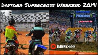Daytona Supercross!! | Huge Quad Jump!! | Ricky Carmichael Amateur Supercross!!
