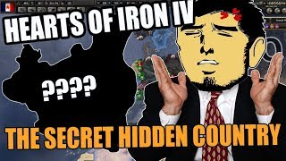 Hearts Of Iron 4: THE SECRET Hidden COUNTRY