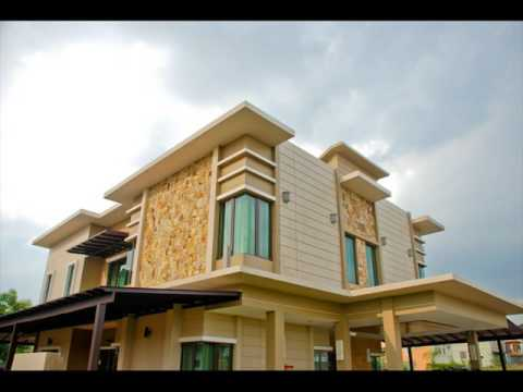 Flat Roof Design for Houses Design Ideas - YouTube