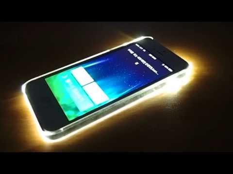 Van.D Light-Up Case for iPhone 5/5s