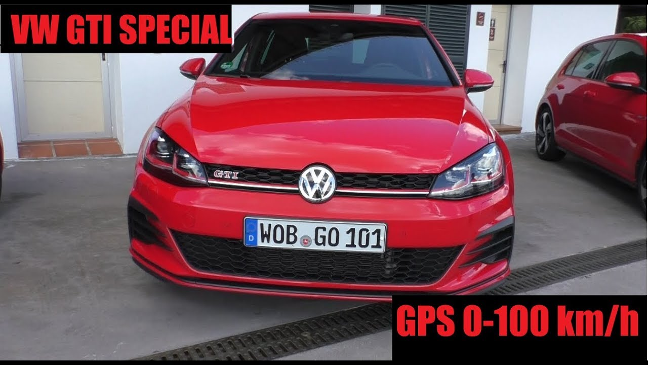 vw golf gti performance 2019 gps acceleration 0 100km. Black Bedroom Furniture Sets. Home Design Ideas