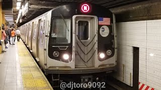 BMT 4th Ave: Riding R160B Alstom 8722 from 36 St to 59 St through new grinding rails (5/9/18)