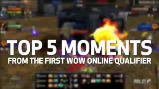 Top 5 Plays from the First WoW Online Qualifier(For more World of Warcraft, be sure to tune in to mlg.tv/warcraft on July 2nd for the next online qualifier., 2016-06-28T21:11:00.000Z)
