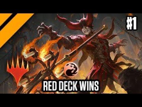 MTG Arena - Top Meta Decks - Red Deck Wins P1