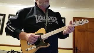 "Working on ""Windy and Warm"" on my Risa Telecaster ukulele"