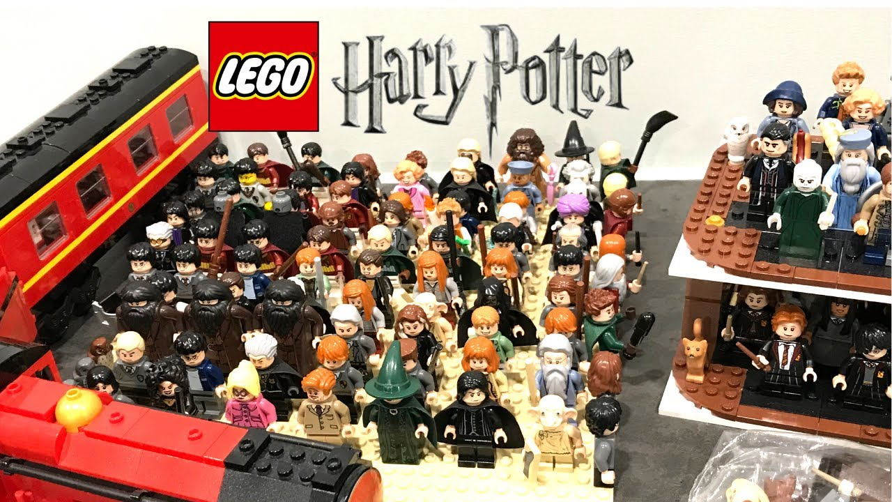 My Lego Harry Potter Minifigure Collection 2020 Edition 100 Minifigures Youtube