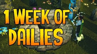 Runescape - Loot From 1 Week of Dailies & Guide!