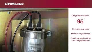 error code 95 troubleshooting ac gate operator motor   liftmaster