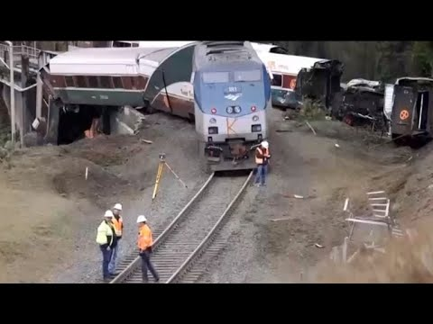 NTSB investigating deadly Amtrak crash