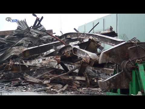 Hoorn op video: Brand karsten Zwaag The day after