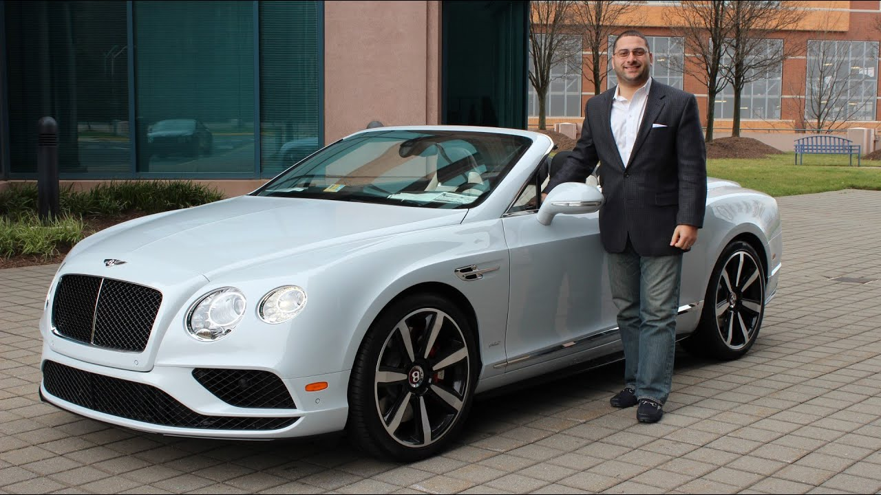 2016 Bentley Continental Gtc V8 S For Lease Sale R
