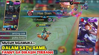 REAL FRANCO VS FANNY DALAM SATU GAME | MYTHICAL GLORY RANKED