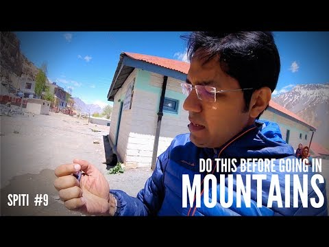 HIGH ALTITUDE SICKNESS : How to prevent ?