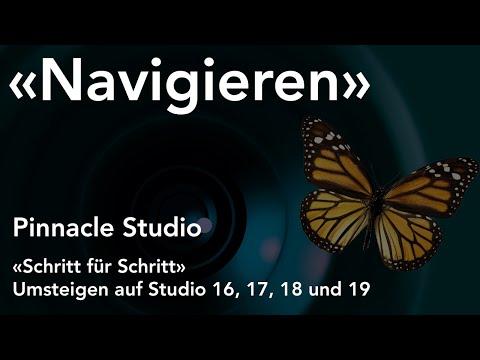 Navigieren auf der Timeline in Pinnacle Studio  - Umsteigen auf Studio 16, 17, 18 und 19