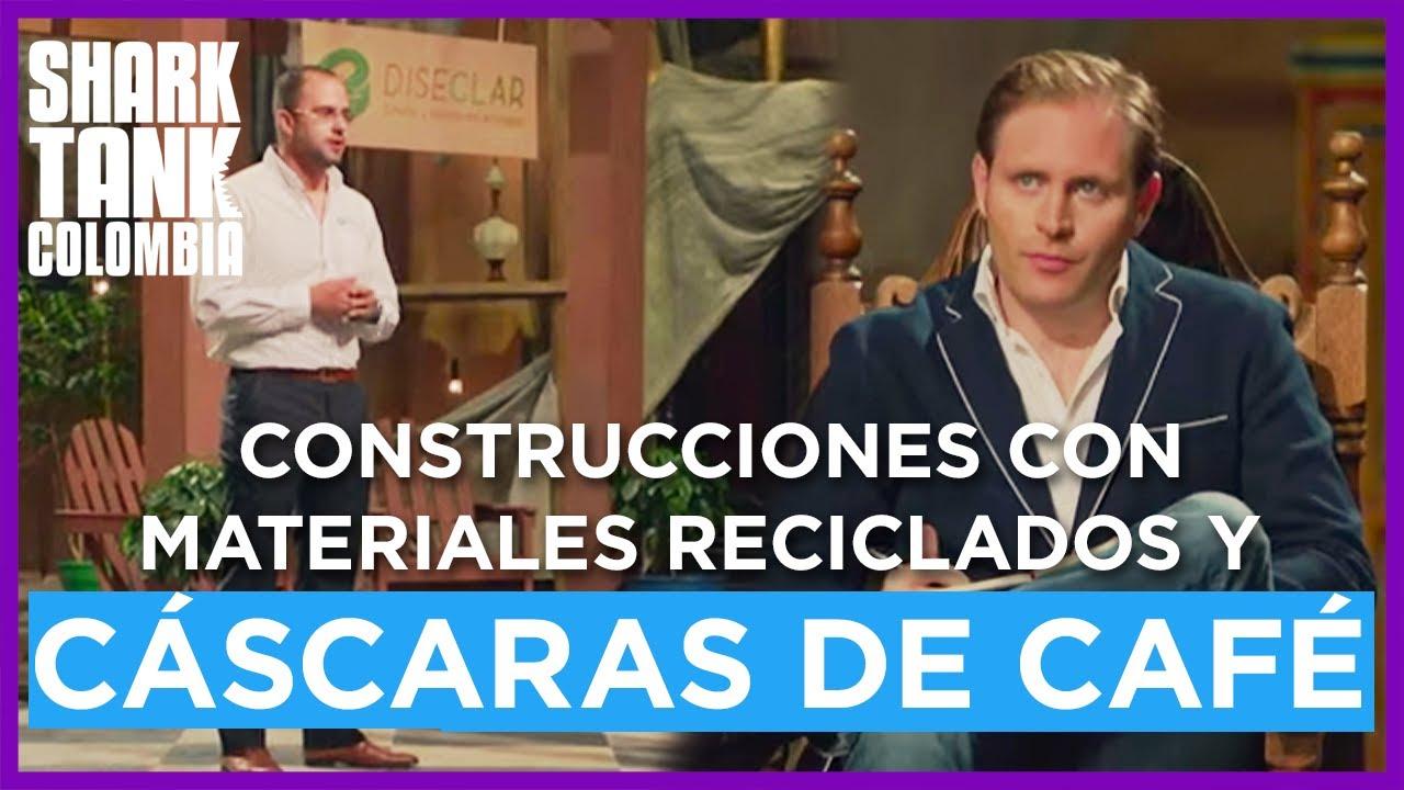 Construcciones ecológicas con materiales reciclados y cáscaras de café. | Shark Tank Colombia