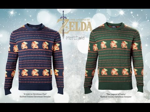 legend of zelda christmas sweaters made by merchoid