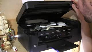 МФУ Epson L3050 первый запуск, печать фото и все настройки подробный обзор