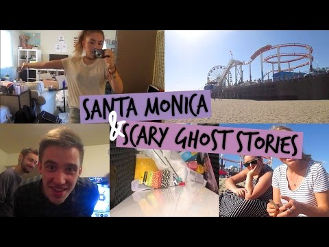 Santa Monica & Scary Ghost Stories with Sammi, Sabrina, Nick, and Andrew!