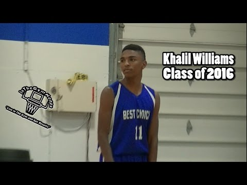 "6'1"" PG Khalil Williams ""THE MICROWAVE"""