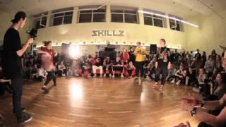 House 1x1 Semi finals Aidulis vs Barracuda (SKILLZ Halloween Jam 2015)