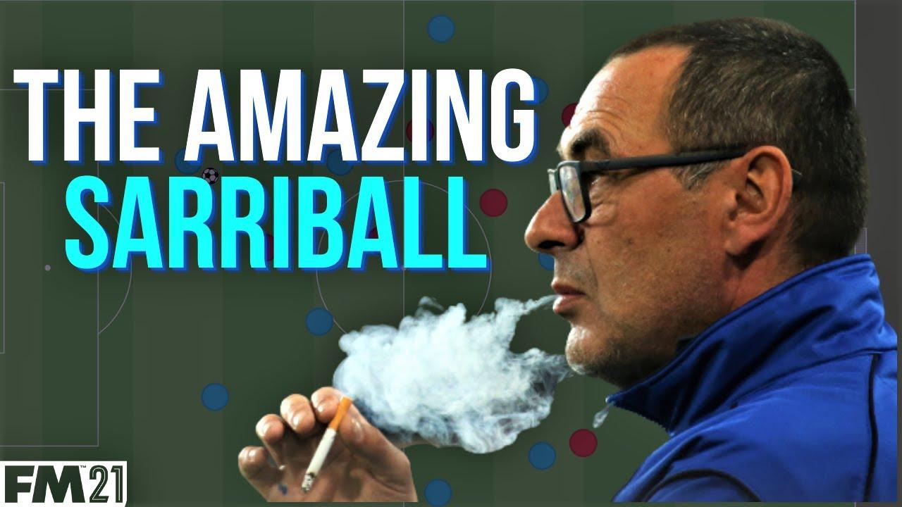 VIDEO: The Amazing Sarriball 4-3-3 FM21 tactics
