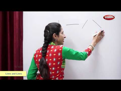 Drawing Different Types of Lines | Maths For Class 2 | Maths Basics For CBSE Children