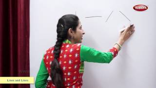 Drawing Different Types of Lines | Maths For Class 2 | Maths Basics For CBSE Children thumbnail