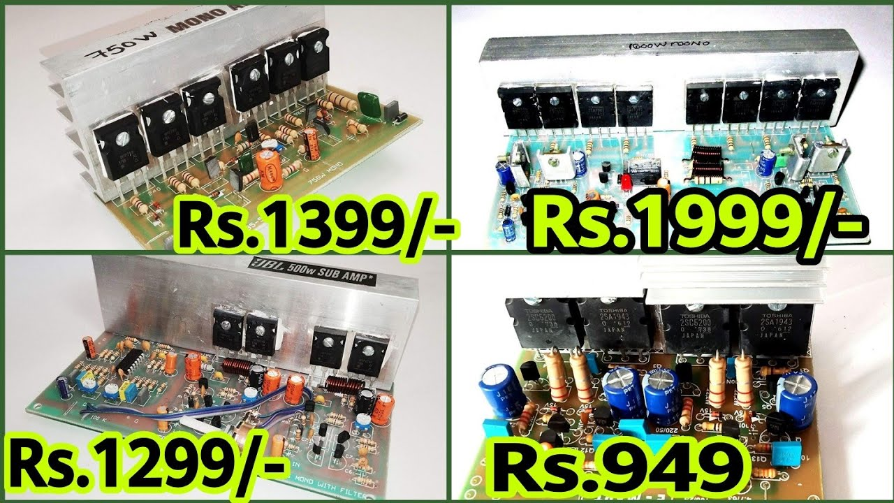 Amplifier Boards Online Price List | Mosfet Amplifier Board | Transistors  Amplifier Boards | 2sc5200