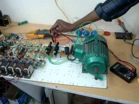 3 phase induction motor speed control vfd youtube for Speed control of ac motor
