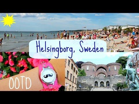 Tour of Helsingborg, Sweden + OOTD ft. BornPrettyStore watch