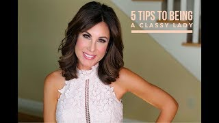 5 TIPS to Being A CLASSY LADY | ETIQUETTE | TOPICS w/ TRACY thumbnail