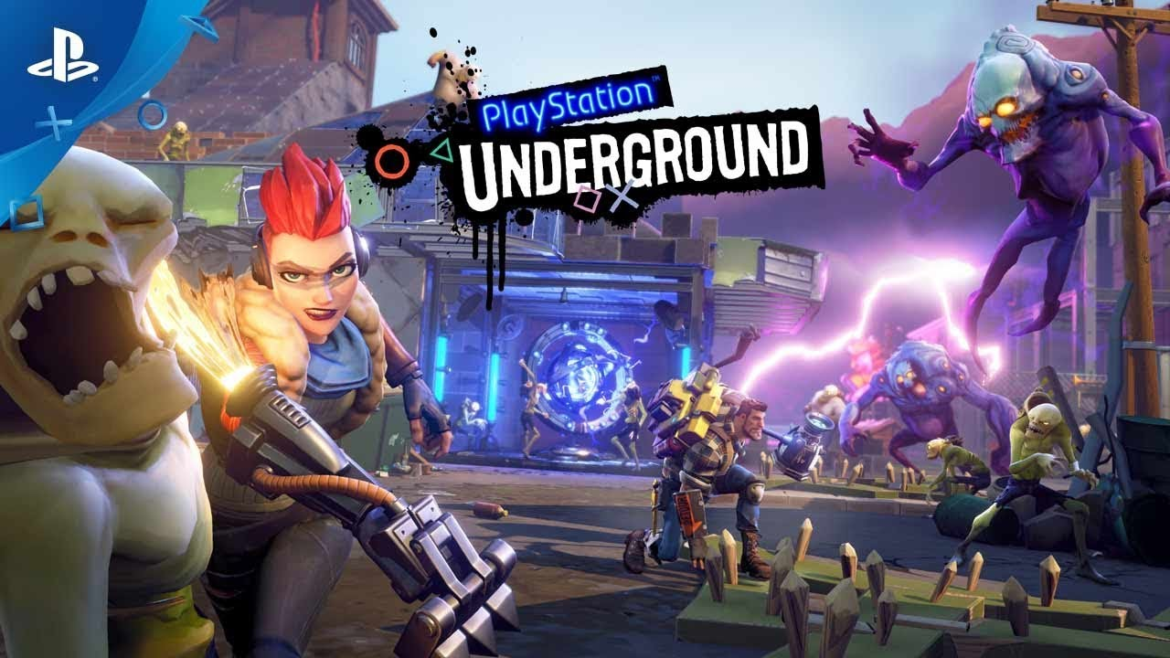 Fortnite Ps Gameplay Playstation Underground