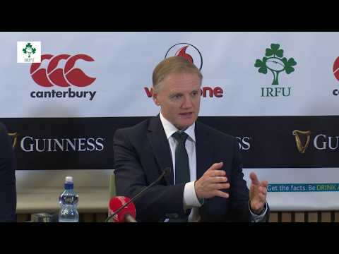 Irish Rugby TV: Ireland v Fiji Post-Match Press Conference