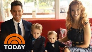 Michael Buble Suspends Career After 3-Year-Old Son Diagnosed With Cancer | TODAY