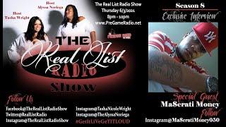 The Real List Radio Show | Season 8 Episode 11