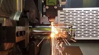 China high precision CNC Fiber laser steel tube cutting machine for sale