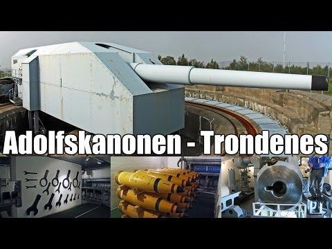 Adolfskanonen ★ Trondenes / Harstad / Norwegen  ★ Festung Norwegen ★ Atlantikwall