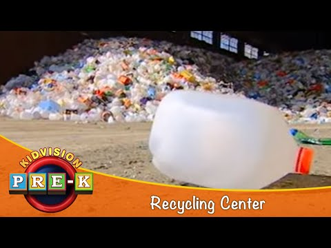 KidVision Pre-K Recycling Center Field Trip