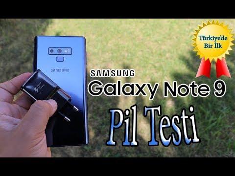 Samsung Galaxy Note 9 pil testi - Yok artık Samsung Bey!!!