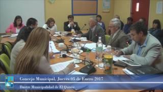 Concejo Municipal Jueves 05 de Enero 2017