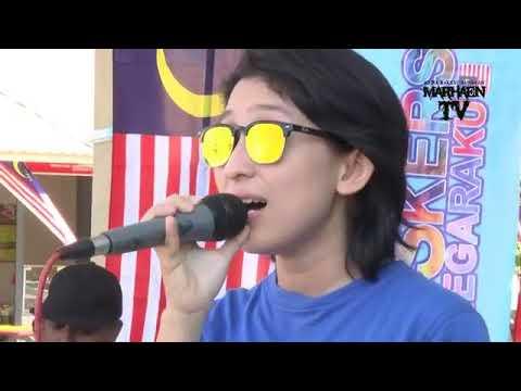 Shaa - Pertama kali live with Darulaman Buskers