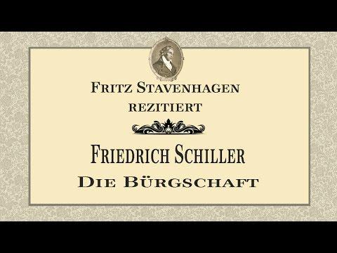 """Friedrich Schiller """"Die Bürgschaft"""" (1798)"""