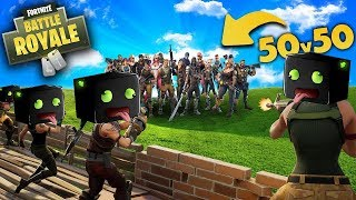 50 ARAZHULS vs 50 NOOBIES!!! - Fortnite Battle Royal [Deutsch/HD]