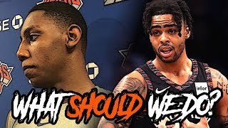 Should The Knicks SETTLE For D'Angelo Russell & Julius Randle? | CK2K LIVE (w/ LIVE CALLS)
