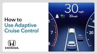 homepage tile video photo for How to Use Adaptive Cruise Control (ACC) with Low-Speed Follow